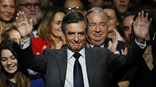 French conservative primary  Early partial results give François Fillon ahead with 69 5% of votes