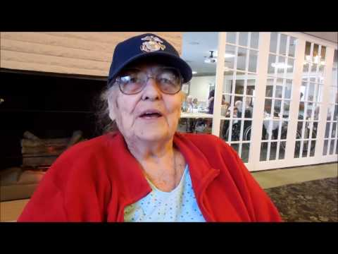 Mary Strack Swenda in Feb 2017 telling about Mama Getting a Cow