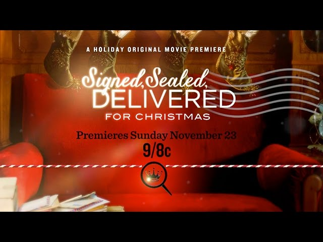 Signed Sealed Delivered for Christmas - Stars Eric Mabius and Kristin Booth