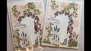 Grace's Garden Birthday Card