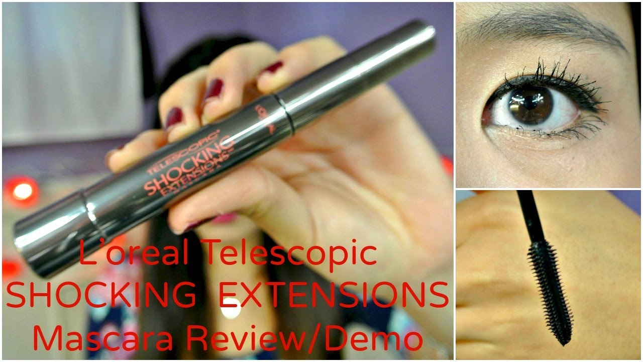 MMM}: NEW L'oreal Telescopic SHOCKING EXTENSIONS Mascara Review ...