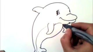 Как нарисовать дельфина(подписаться здесь: http://goo.gl/o963dE Как нарисовать дельфина., 2015-11-09T17:48:36.000Z)