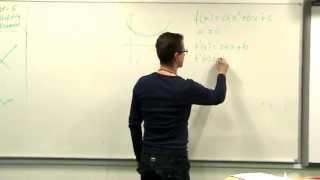 Andengrads polynomier og dets grafer