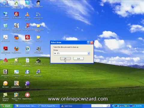 Windows XP Disk Clean UP Use It To Speed Up your PC