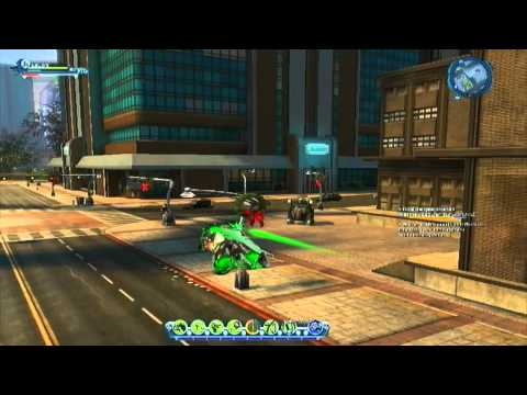 DC Universe Online - X-Mas Season Event VS Orange Lantern Larfleeze (w/ Green Lantern Character)