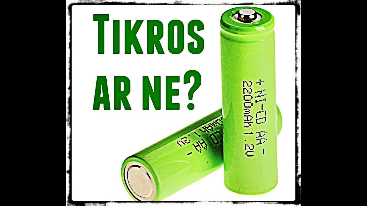 ar baterijos numeta svorio?