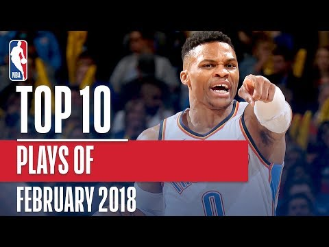 Top 10 Plays of February 2018