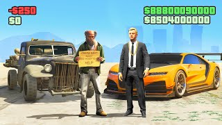 RICHEST vs. POOREST PLAYER Challenge in GTA 5!