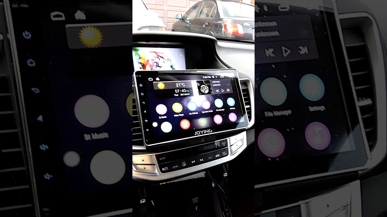 9th Gen Accord With Android 10 1 Joying Head Unit