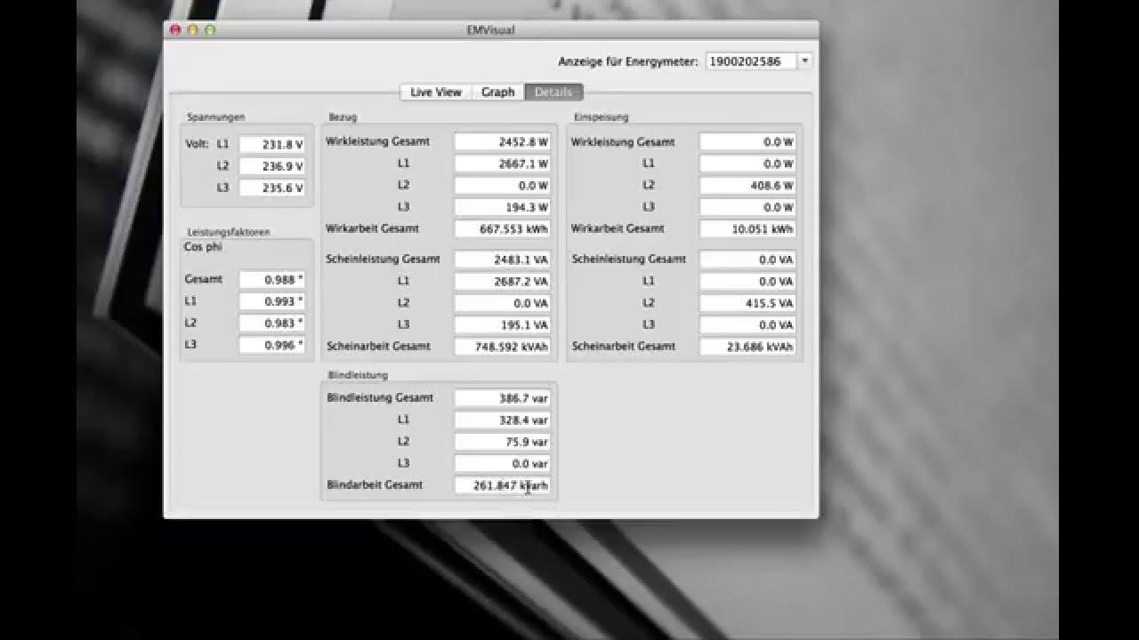 Download SMA Energy Meter: Visualisation under Mac OSX
