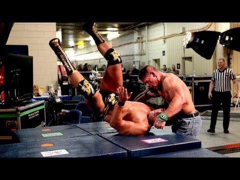 John Cena vs. Alberto Del Rio Falls Count Anywhere: Raw, Sept. 3, 2012