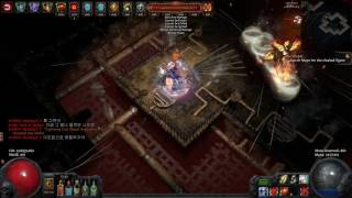 path of exile pathfinder tornado shot tier16 forge of the phoenix map clear