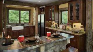 A Southern Adirondack Log Post & Beam Home