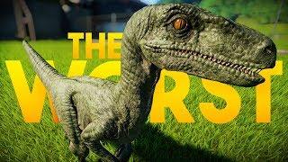 EVERY DINOSAUR RANKED   The Bottom 19 (Jurassic World: Evolution Worst Dinosaurs)