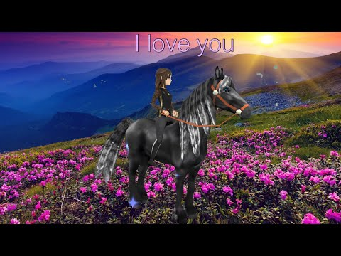 """Horse riding tales - Music video """" I love you """""""
