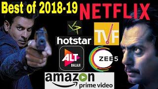 Top 20 Indian Web Series in 2018-19(imdb & Google User Rating)in Hindi