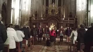 Improvisation vocale avec le public dans le style baroque.