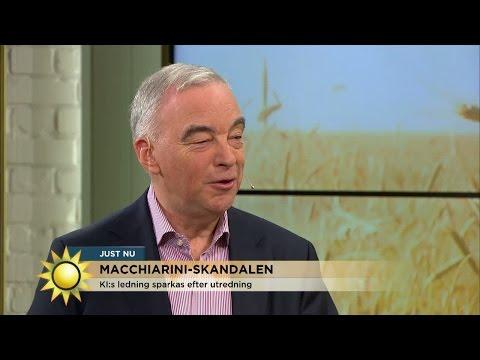 "Macchiarini-skandalen: ""En charmig mytoman som lyckats manipulera"" - Nyhetsmorgon (TV4)"