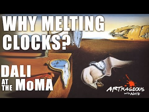 Salvador Dali at the MoMA: The Persistence of Memory