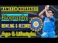 Kamlesh Nagarkoti biography | Kamlesh Nagarkoti bowling in Under 19 | Bowling speed 149 kmph