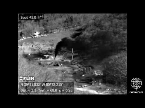 XTO Methane Disaster near Powhatan Point, OH (BROLL)