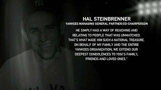 NYY@TOR: Hal Steinbrenner remembers Yogi Berra
