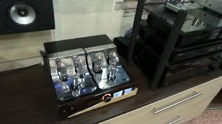 Ламповый фонокорректор на 6н2п.