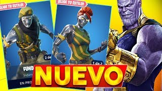 VICTORY WITH *NEW METAL SKIN* AND THANOS - FORTNITE Battle Royale
