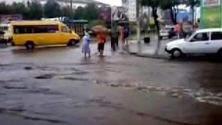 Днепродзержинск.  После ливня.  2013 07 14 13 28