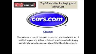 Top 10 Websites To Buy And Sell Your Car Online