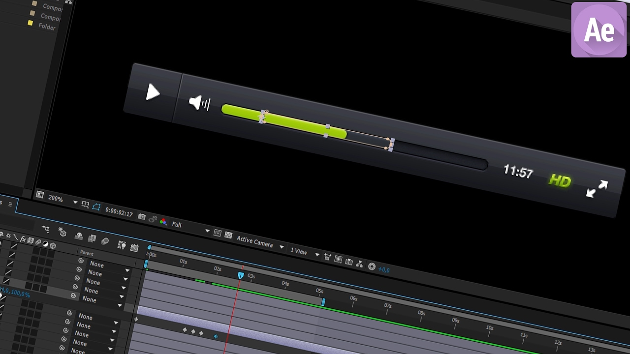 how to play a video on after effects