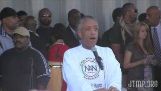 March for Jobs and Justice Al Sharpton Speech - Martin Luther King, Jr. Memorial