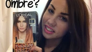 One of CopperGardenx's most viewed videos: L'Oreal Wide Ombre Hair Tutorial & Review | CopperGardenx