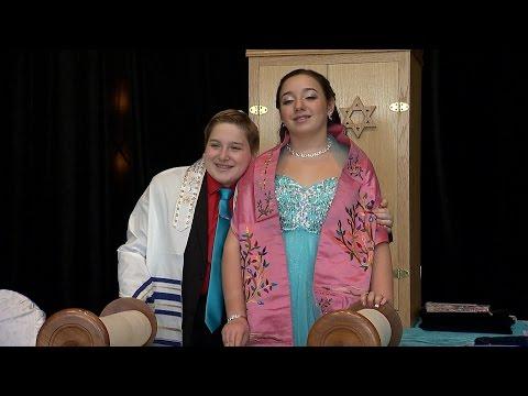 Alexis & Spencer, Our B'nai Mitzvah