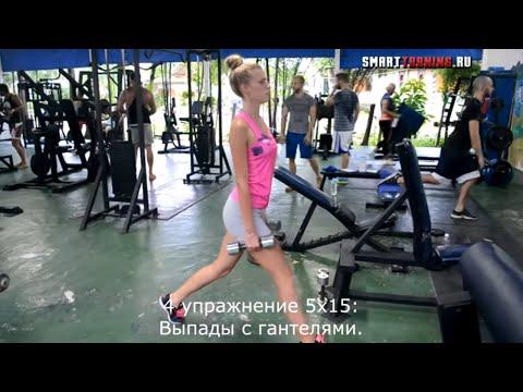 Тренировка для девушек в тренажерном зале | На все группы мышц.