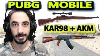 SERT İKİLİ KAR98 + AKM - PUBG Mobile