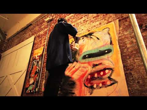 The Publicity TV: Stev Camo Live Art Session