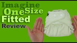 Imagine OS Fitted Cloth Diaper Review - Faiths Attic