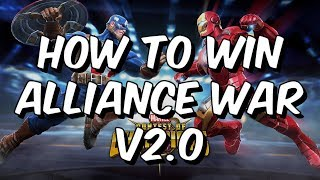 Marvel Contest Of Champions Alliance Wars Strategy