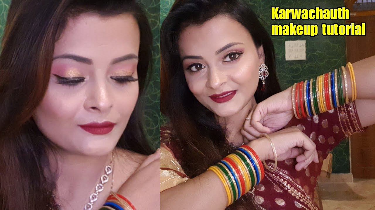 Karwa Chauth 2019 Makeup Tips For Married Women In Hindi