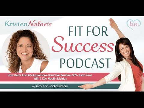 How Kerry Ann Rockquemore Grew Her Business 30% Each Year With 3 Key Health Metrics