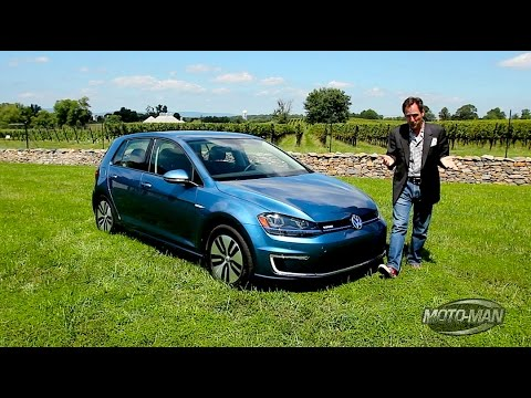 2015 Vw E Golf Ev First Drive Youtube