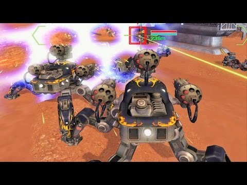 War Robots Gameplay - Intense battles !