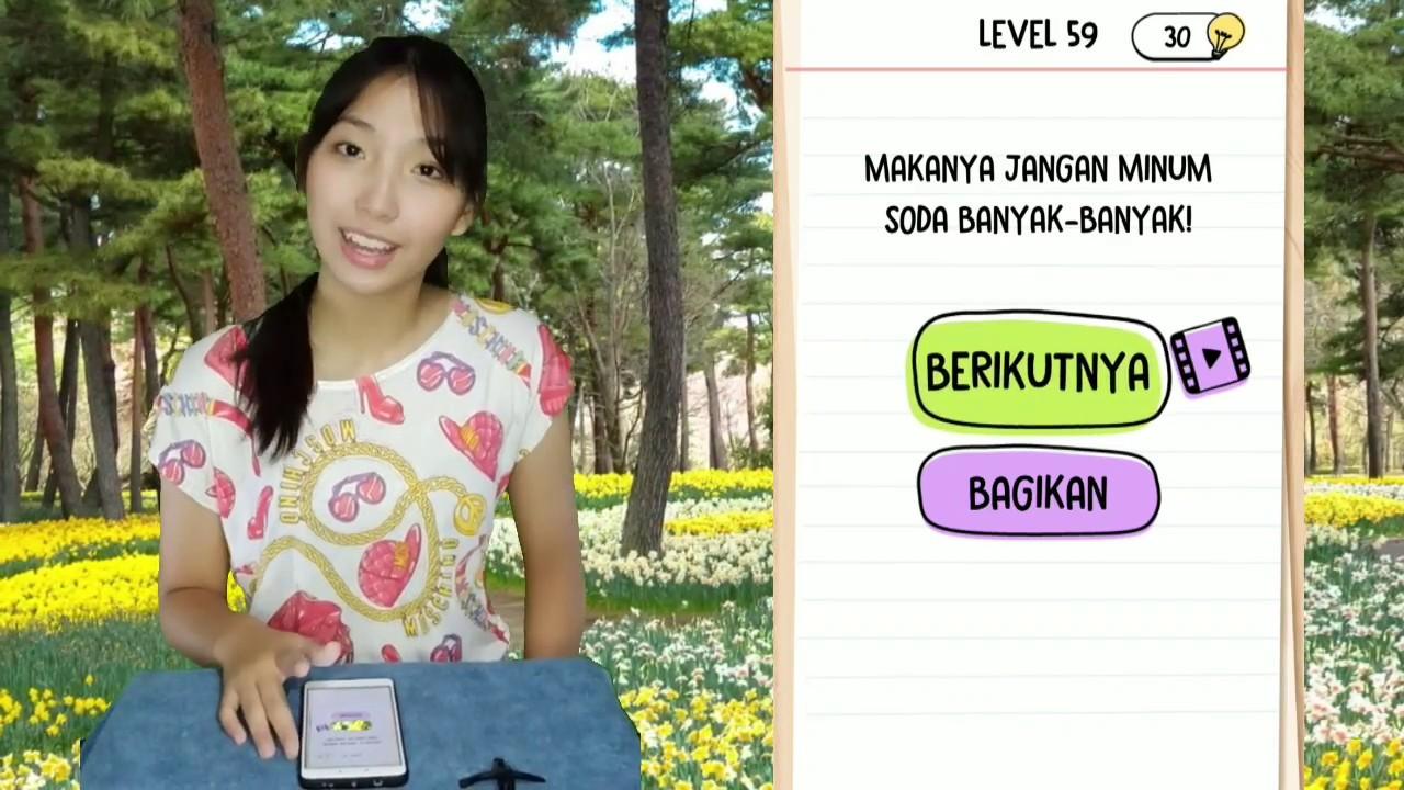 Jawaban Brain Test Level 56 57 58 59 60 Bahasa Indonesia Youtube