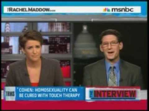 Rachel Maddow takes down gay-to-straight conversion seminarist Richard Cohen (pt 2/2)