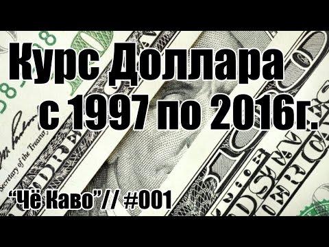 Курс доллара с 1997 по сегодняшний день. Посмотрите и вы удивитесь, как это было