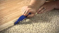 How to Install a Carpet Reducer : Flooring Projects
