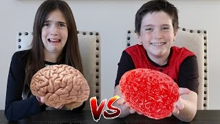 Download GUMMY FOOD vs REAL FOOD!! Mp3 and Videos