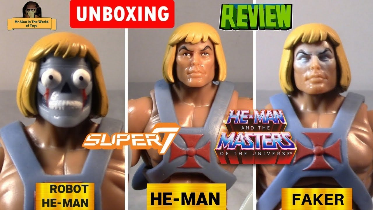 Masters of the Universe Ultimates He-Man 2.0 Filmation Super7 Club Grayskull New