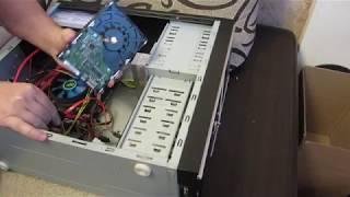 Меняю корпус домашнего сервера
